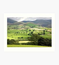 The Lune Valley Art Print