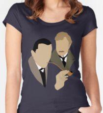 Sherlock - Brett 'n Burke Women's Fitted Scoop T-Shirt