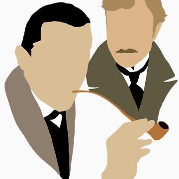 Sherlock - Brett 'n Burke by ftwyn