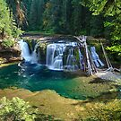 Lower Lewis River Falls by Tula Top
