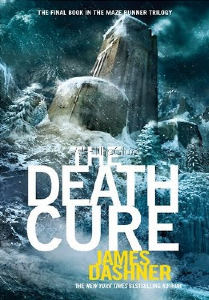 The Death Cure Book Cover by A5-TheGlue