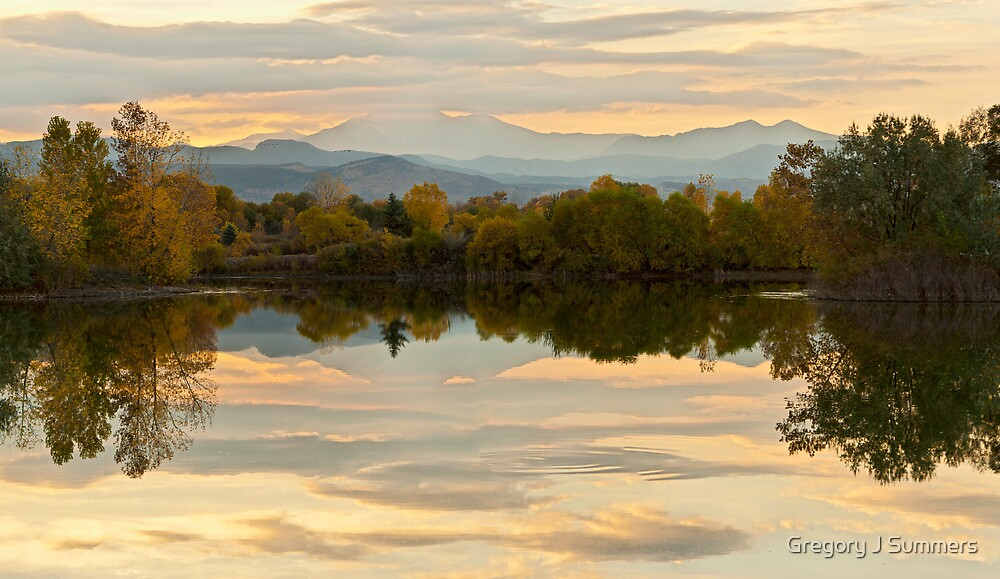 Reflections Like Glass by Gregory J Summers