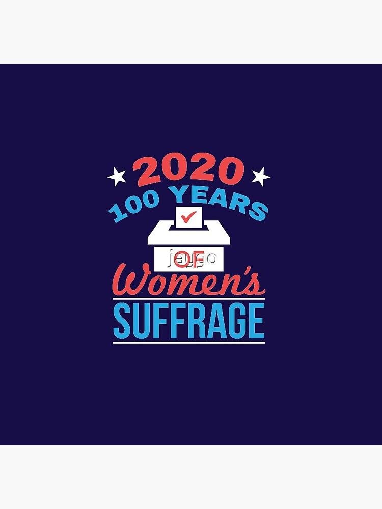 2020 100 Years Women's Suffrage by jaygo