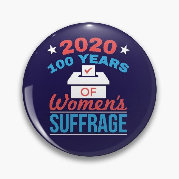 Suffrage des 100 ans des femmes 2020 Badge