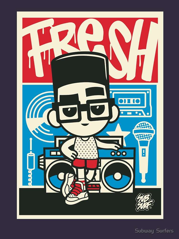 Subway Surfers Totally Fly Fresh Poster Art by subwaysurfers