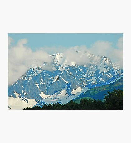 High On A Mountain Top Photographic Print