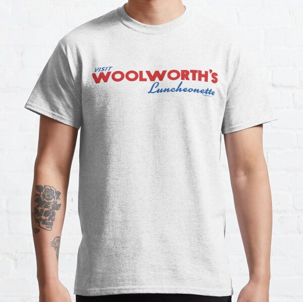 Bobby West Exclusive Woolworth's Luncheonette Sign  Classic T-Shirt