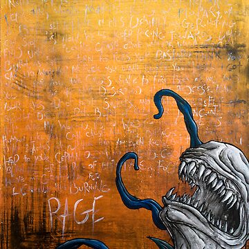 Disfigured/Dismantled: Rage by MarcLothsArt