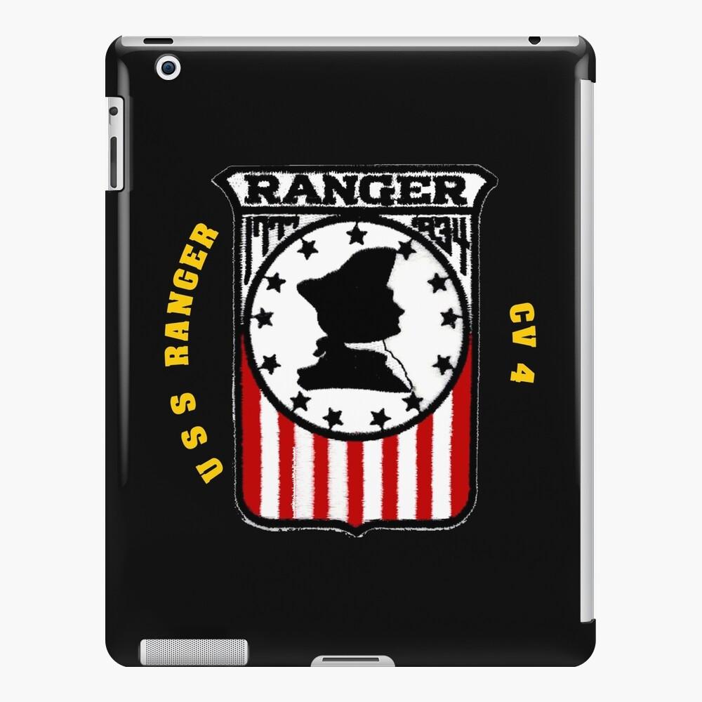 USS Ranger CV-4 for Dark Colors   iPad Case & Skin
