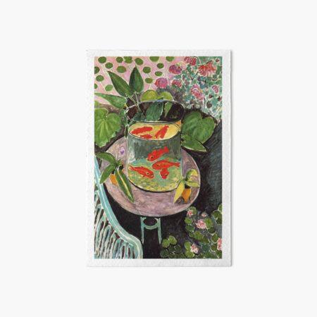 Henri Matisse Goldfish 1911, Goldfishes Artwork, Men, Women, Youth Art Board Print