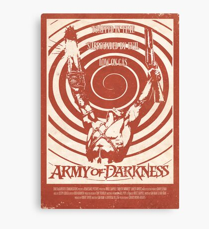 Army of Darkness (1992) Custom Poster Canvas Print