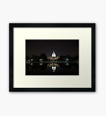US Capital Building Framed Print
