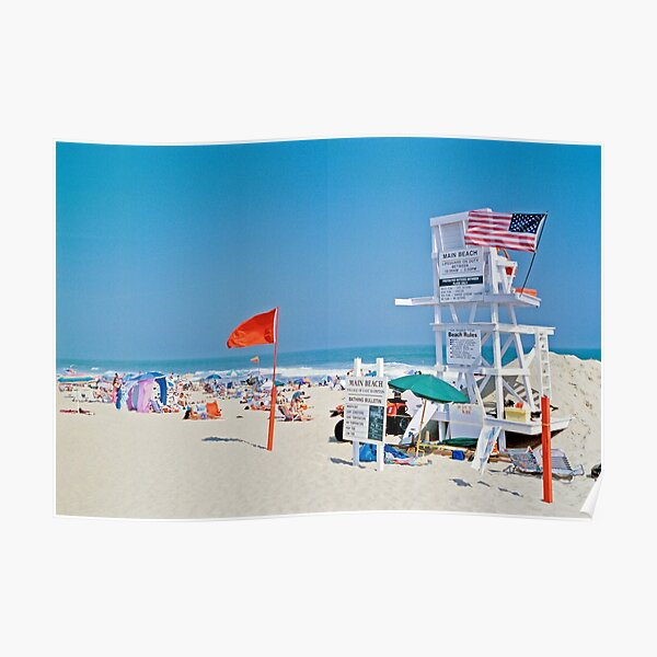 Hamptons Beach Poster