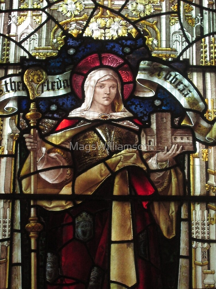 Stained Glass (2), Lady St Mary Parish Church, Wareham by MagsWilliamson