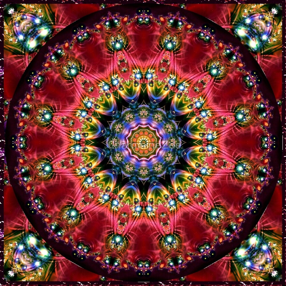 Krazy Kaleidoscope 1009 by CharmaineZoe