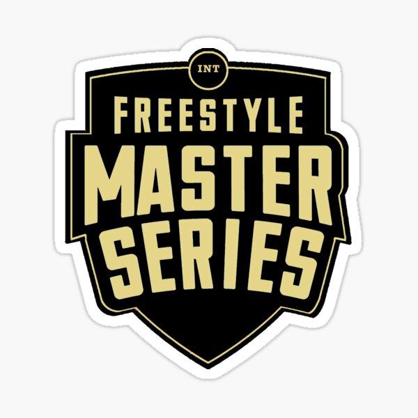 FMS INTERNACIONAL - Freestyle Master Series - Logo oficial Pegatina