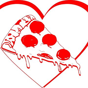 Pizza Heart by thedpizzaparty
