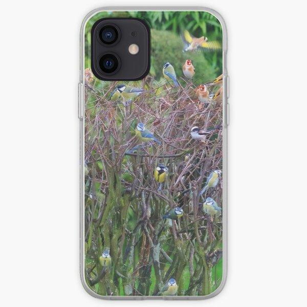 A bird in the bush iPhone Soft Case