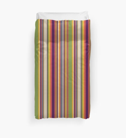 Fourth Doctor Scarf Duvet Cover