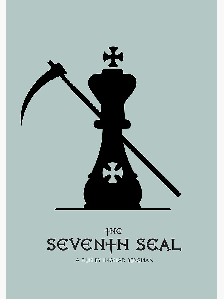 The Seventh Seal - Alternative Movie Poster by MoviePosterBoy
