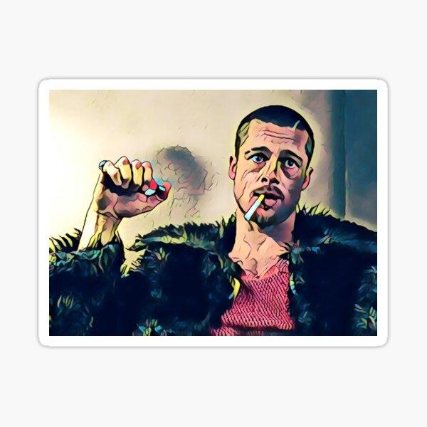 Fight Club Tyler Durden Sticker