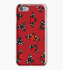 Scarlet Tigers - Red iPhone Case/Skin