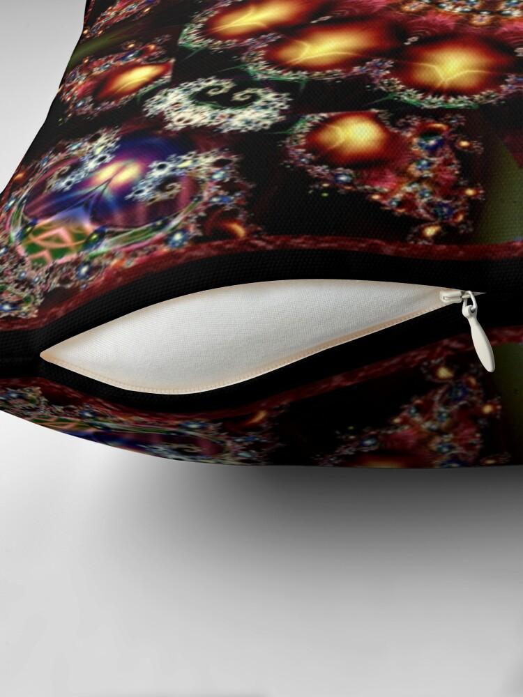 Alternate view of Krazy Kaleidoscope 1011 Throw Pillow