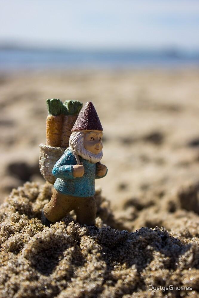Sand Trudge Gnome by DustysGnomes