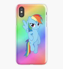 Rainbow Dash - Flying iPhone Case