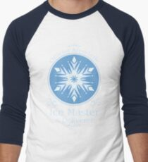 Camiseta ¾ bicolor para hombre Cosechadora de hielo