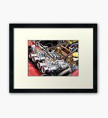 July Engine Framed Print