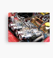 July Engine Canvas Print