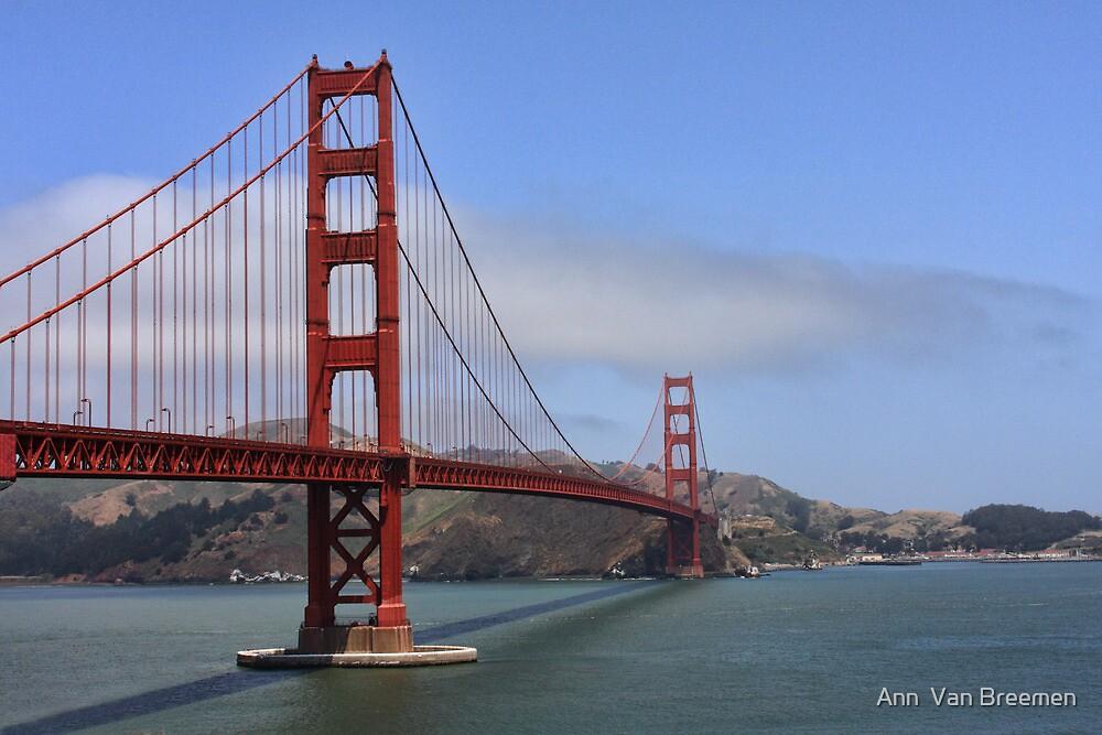 Golden Gate  by Ann  Van Breemen