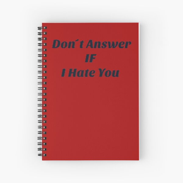 Bitchy Personality  Spiral Notebook