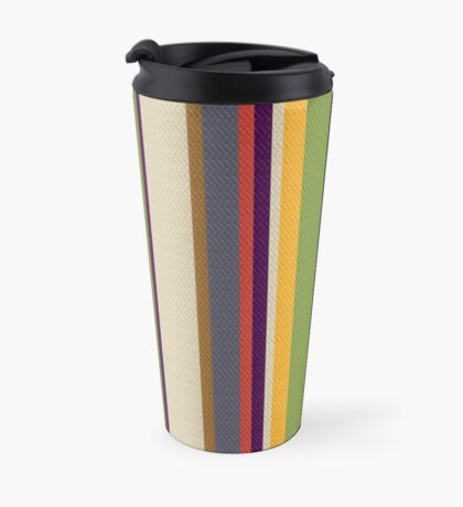 Fourth Doctor Scarf Travel Mug
