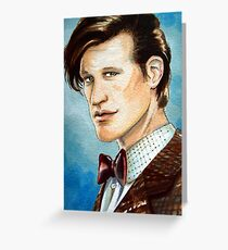 Matt Smith Greeting Card