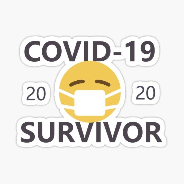 COVID-19/Coronavirus Survivor Sticker