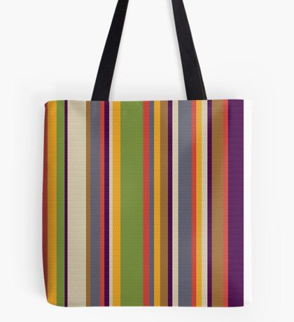Fourth Doctor Scarf Tote Bag