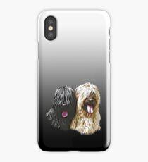 Black & Fawn Briard iPhone Case iPhone Case/Skin