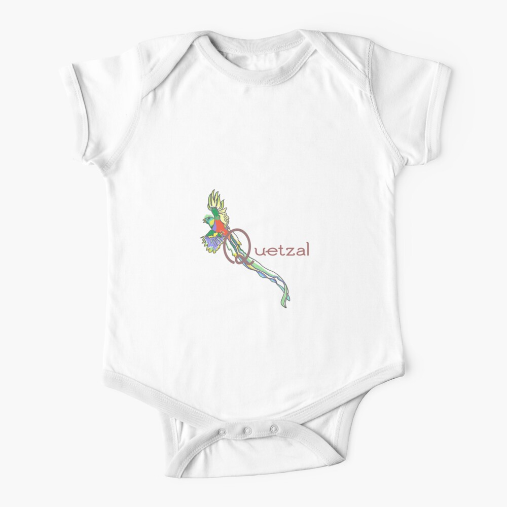 Quetzal bird  Baby One-Piece