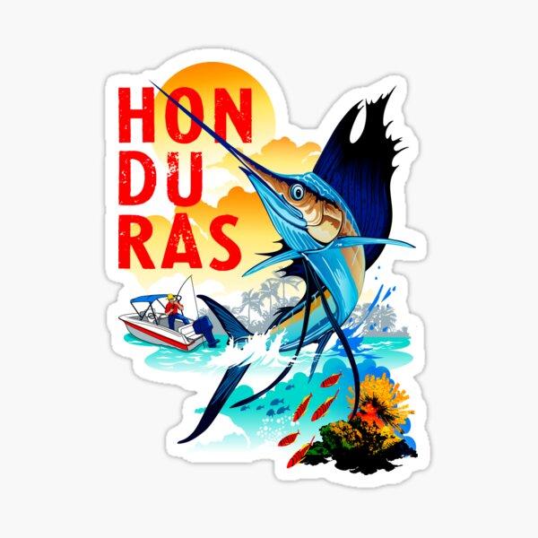 Honduras Marlin Pegatina