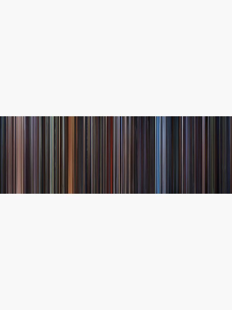 Moviebarcode: Star Wars: Complete Saga (1977-2005) by moviebarcode