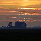 Sunset over Waterland by heinrich