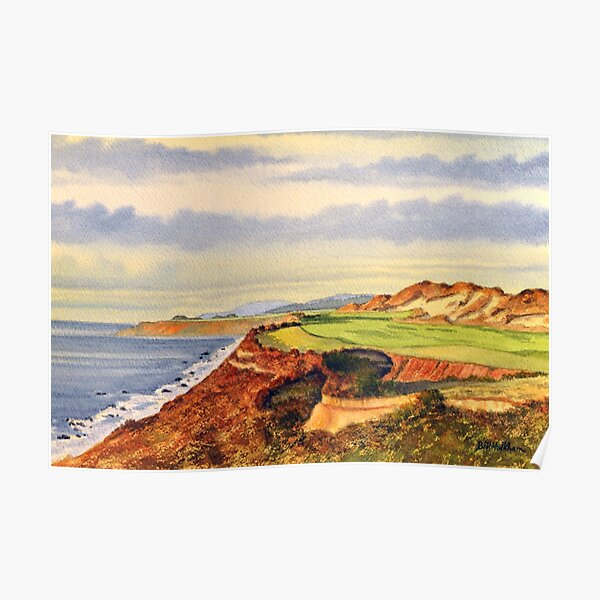 Pacific Dunes - On Bandon Dunes - Golf Course Oregon 13th Hole Poster