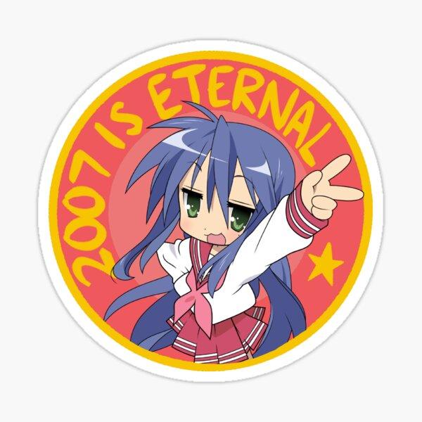 Lucky Star Konata 2007 is Eternal Sticker