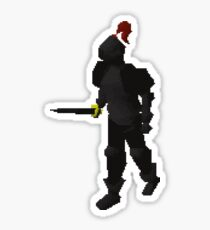 Black Knight Sticker