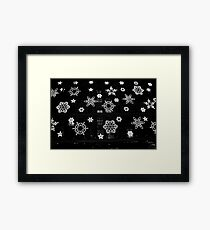 Flakes on 5th Avenue Framed Print