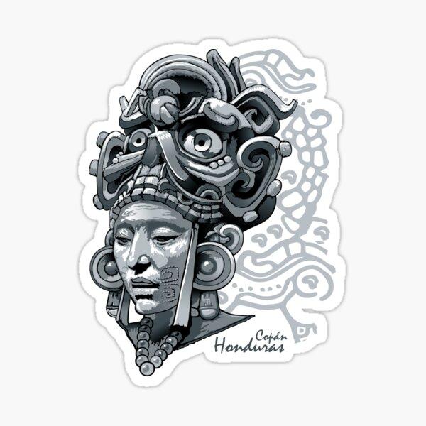 Honduras Mayas Pegatina