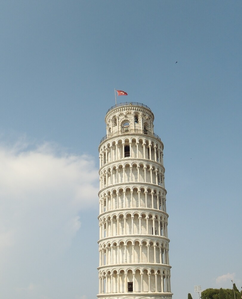 Leaning Tower of Pisa - Italy by clarebearhh