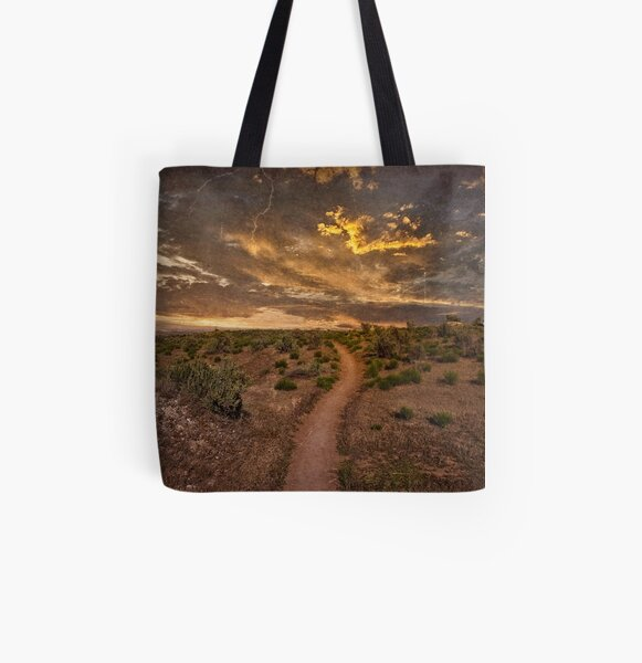 Sunset Trail All Over Print Tote Bag